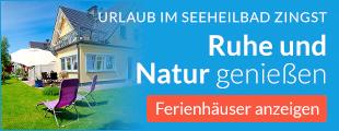Willkommen im sonnigen Seebad Zingst.
