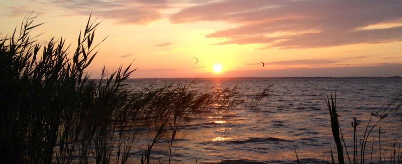 Sonnenuntergang Kitend